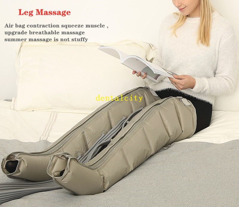 Image 5 - Electric Air Compression Leg Massager Leg Wraps Foot Ankles Calf Therapy Promote Blood Circulation Relieve Pain FatigueLeg Massage Apparatus   -