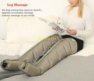 Image 5 - Pompa di Aria elettrica di Compressione Leg Massager Leg Wraps Piede Caviglie Vitello Terapia Promuovere La Circolazione del Sangue Alleviare Il Dolore Fatica