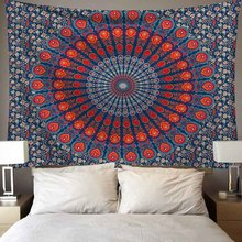 Hippie/Witchcraft/Mandala Tapestry Wall Hanging Psychedelic Boho Decor Bed Sheet Wall Tapestry for Room/Office/Dormitory/School Decoration Sandy Beach Throw Rug Blanket Camping Tent Travel Yoga Mattress