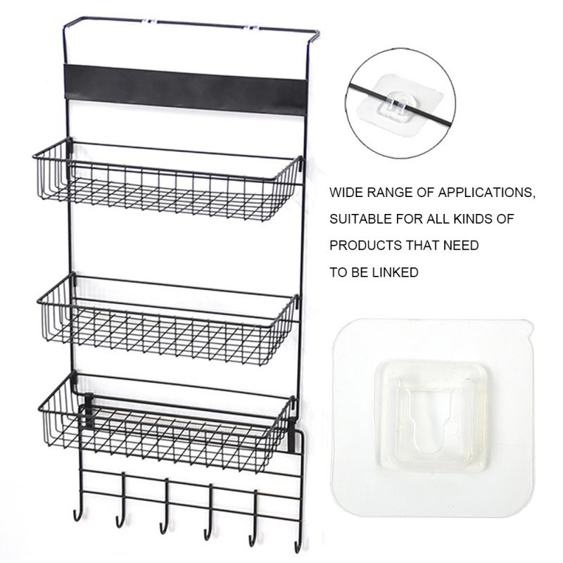 Strong Hook Hook Shoe Rack Wall Mount Rack Strong Non-Marking Patch Patch Accessories Grab Hook