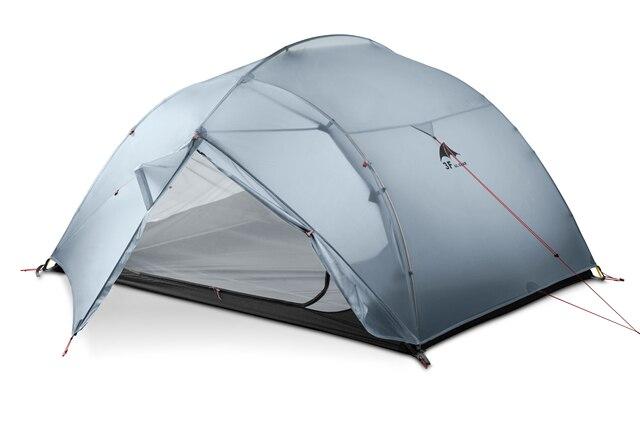 3f ul gear 3 인 3/4 시즌 15d 캠핑 텐트 대형 방수 야외 초경량 하이킹 배낭 사냥 텐트