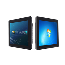 Industrial Panel PC Capacitive touch screen17 inch core i3i5i7 8G RAM  128G SSD embedded industry standard cabinet installation