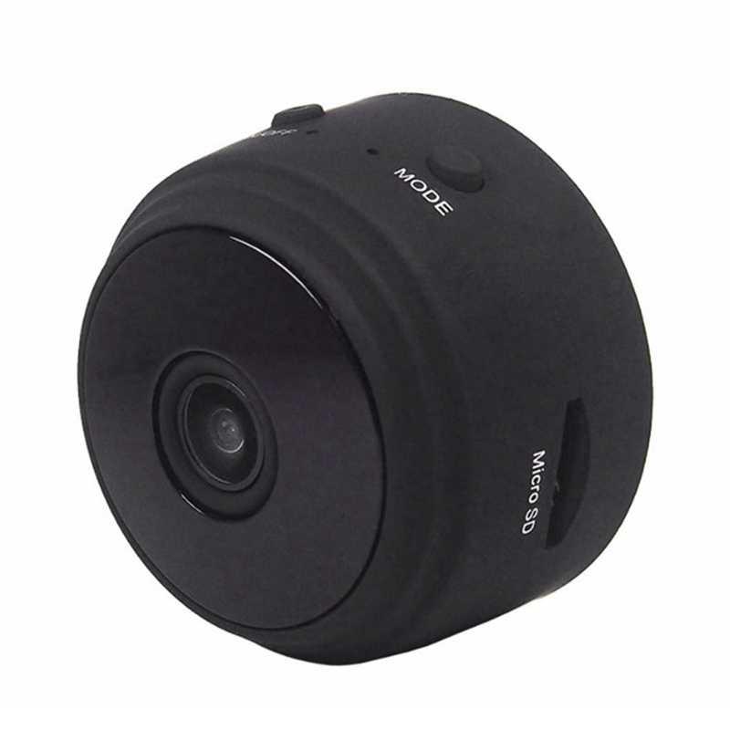A9 كاميرا واي فاي صغيرة الأشعة تحت الحمراء للرؤية الليلية كاميرا صغيرة كاميرا جوية Dv كاميرا صغيرة من البلاستيك الأسود