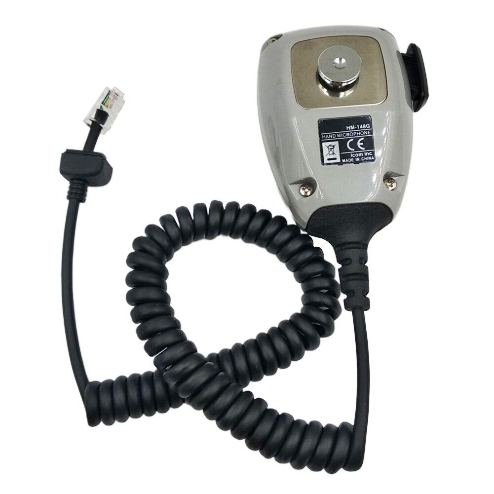HM-148G Communication Ham Mic Handheld Mobile Radio Durable Practical ABS Speaker Car Mounted Self Grounding For ICom Series