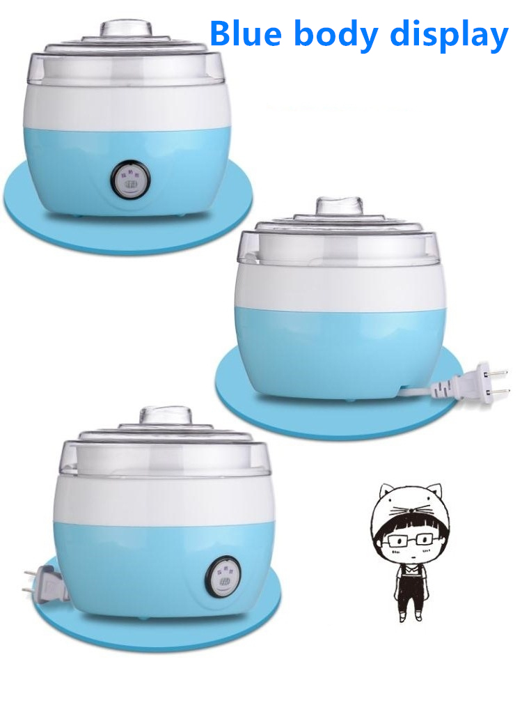 Image 3 - Electric Yogurt Maker DIY Automatic Machine Kitchenware Tools Stainless Steel Yogurt Maker Ice Cream Machine Drop Shipping220V-in Yogurt Makers from Home Appliances