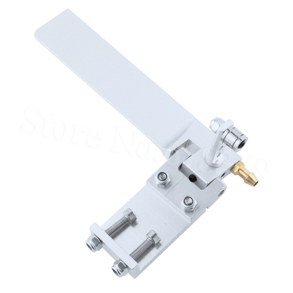Aluminum short arm 110mm blade rudder w// pickup for electric nitro rc boat