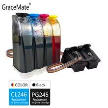 Gracemate совместимый для canon pg245 cl246 чернила ip2820 mx492