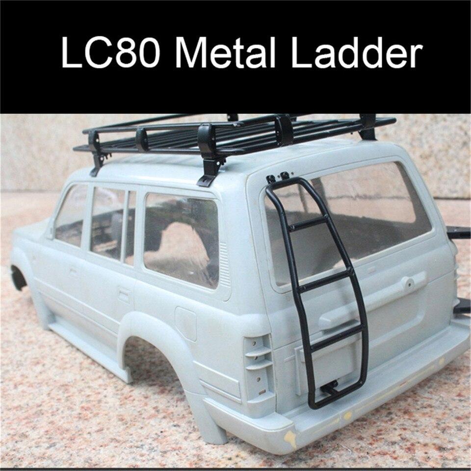 Metallleiter für 1//10 Rock Crawler LC80 TRX 4 SCX10 2 II 90046 Spielzeug Modell