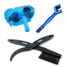 Bike Chain Cleaner Scrubber Bicycle Cleaning Brush Road Mountain Wash Tool Kit Cycling Maintenance Repair Brushes