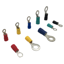 цена на RV2 -5 1000PCS Ring Insulated Terminal Cable Wire Connector Electrical Crimp Terminal Wiring 1.5 - 2.5 Square