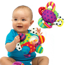 Toy Balls Baby hand catching holding plush soft cloth moving sound fitness toys crawling interactive parent-child grasping