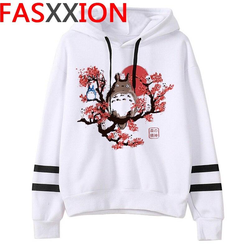 Totoro Studio Ghibli hoodies women streetwear grunge femme hoody sweatshirts hip hop streetwear 23