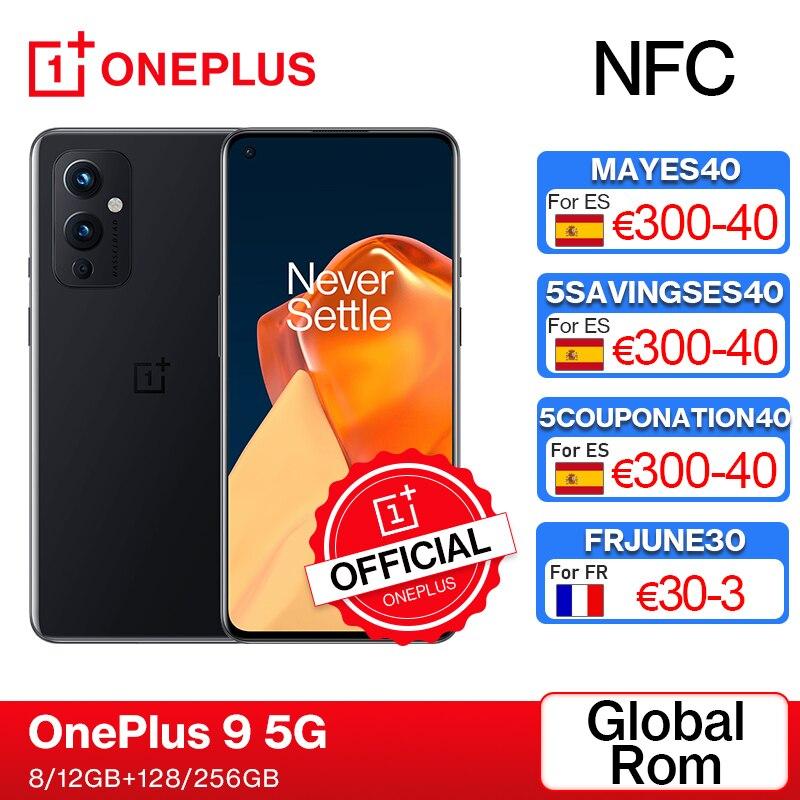 Глобальная прошивка OnePlus 9 5G Snapdragon 888 8GB 128GB смартфон 6,5 ''120 Гц жидкости активно-матричные осид, Hasselblad Камера OnePlus официального магазина Carter's; ко...