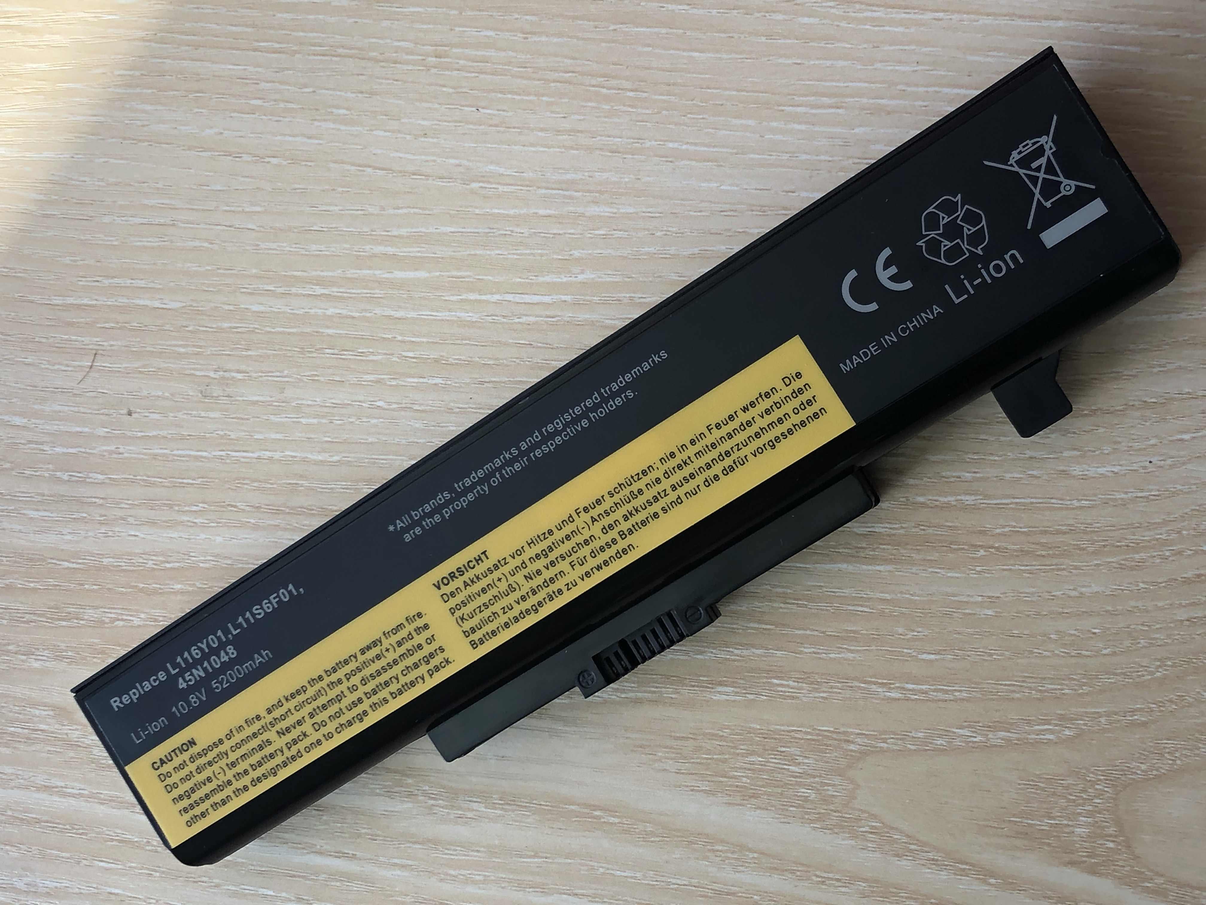 بطارية كمبيوتر محمول لينوفو G580 Z380 Y480 G480 V480 Y580 L11S6Y01 L11L6Y01 L11O6Y01 L11S6F01 L11L6F01 L11P6R01