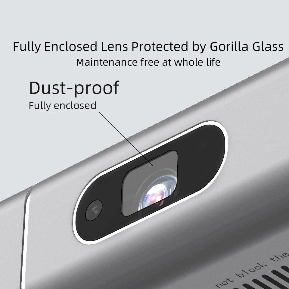 Byintek U50 Full HD 1080p mini 2k 3d 4k android Smart Wifi Projetor portátil laser Home Movie led dlp projetor beamer proyector-5