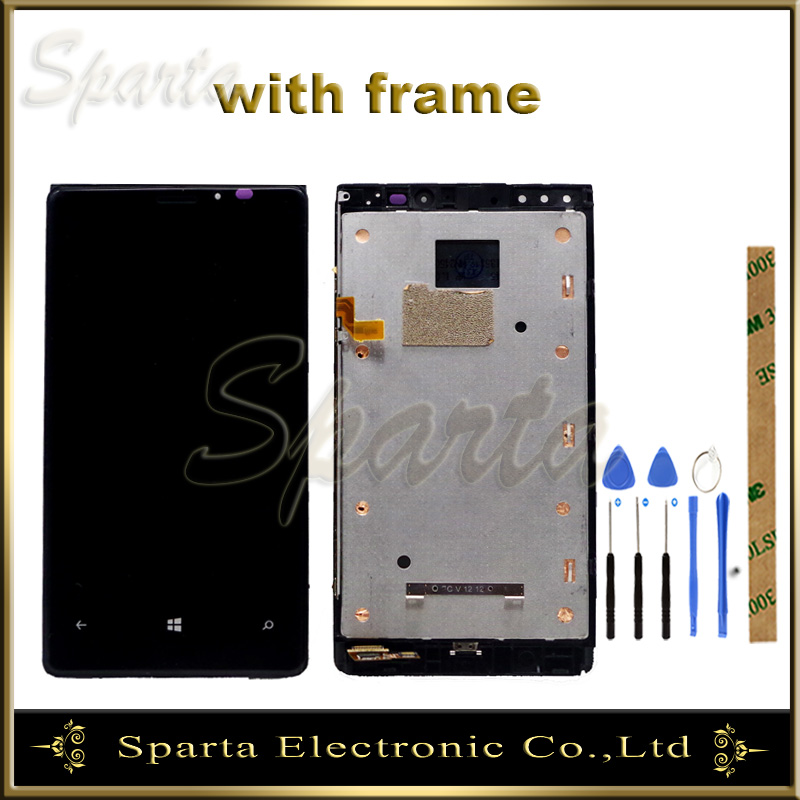LCD Display Screen For Nokia Lumia 920 RM-822 RM-821 RM-820 LCD Display Screen With Touch Panel Digitizer Sensor