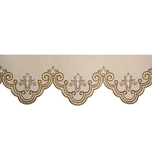 1 PC Curtain Valance Tier Jacquard European Royal Luxury for Living Room Window Decor for Bedroom DIY Curtain Swags JS204C