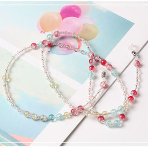 Image 3 - Retro Eyewears Cord Holder neck strap Rope Fashion Chic Womens  Eyeglass Chains Sunglasses Reading Beaded Resin Glasses Chain