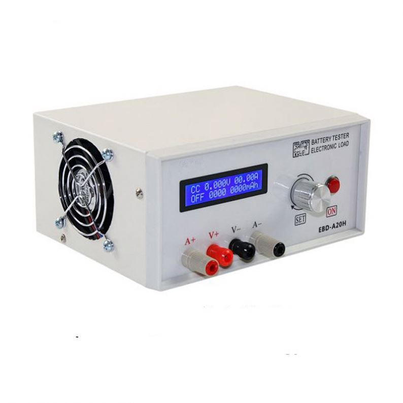 Electronic Load, Battery Capacity Tester, Power Supply Tester, Battery Discharge Tester 30V 20A 200W Oneline Software EBD-A20H