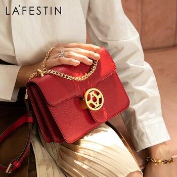 LAFESTIN brand bags for Women 2019 new Shoulder Bag Fashion Crossbody Bags High Quality Women Messenger Bag