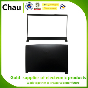 Chau New For MSI GF63 8RC GF63 8RD MS-16R1 LCD Back Cover Top Case Rear Lid 3076R1A211HG/LCD Front Bezel Cover 3076R1B211TA