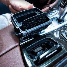 Boîte de montage de cendrier de Console centrale de voiture, accessoires automobiles pour Bmw série 5 F10 F11 F18 2010 – 2017 51169206347