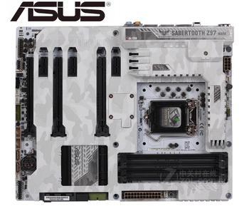 Asus SABERTOOTH Z97 MARK S Desktop Motherboard Socket LGA 1150 i7 i5 i3 DDR3  SATA3 USB3.0 USED mainboard