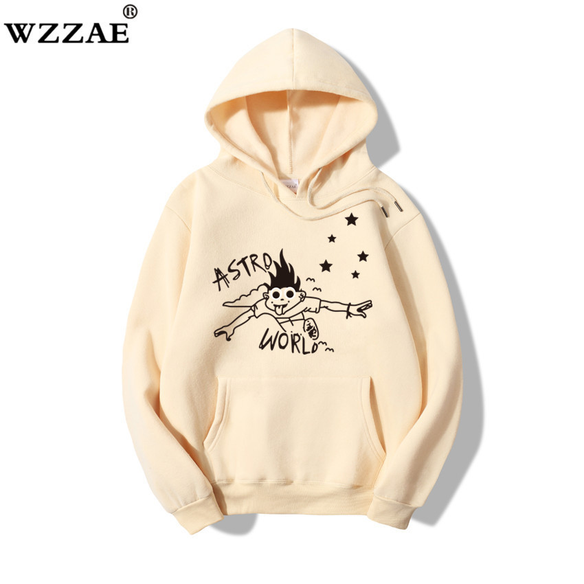 ASTROWORLD 2020 New Brand Hoodies Man Look Mom I Can Fly Funny Letter Print Hooded Sweatshirts Travis Scott Hip Hop Streetwear(China)