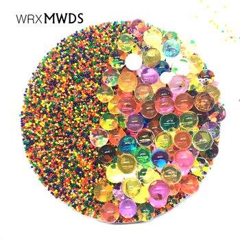 500000 PCS/Bag Hydrogel Pearl Shaped Crystal Soil Water Beads Gel Ball For Flower/Weeding Mud Growing Balls
