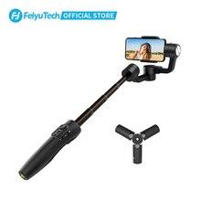FeiyuTech Vimble 2 S Cầm Tay Điện Thoại Thông Minh Gimbal Điện Thoại Ổn Định Gậy Chụp Hình Selfie Stick 180Mm Kéo Dài Cực Cho iPhone 12 Samsung