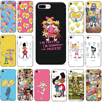 Hey Arnold Popular Unique Design Phone Cover for Apple iPhone 8 7 6 6S Plus X XS MAX 5 5S SE2020 XR 11 11pro 11promax Cellphones image