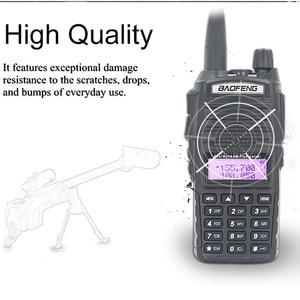 Image 2 - الأصلي BaoFeng UV 82 لاسلكي تخاطب 5 واط 128Ch المزدوج الفرقة VHF UHF 136 174 ميجا هرتز 400 520 ميجا هرتز المحمولة Baofeng UV82 هام راديو Baofeng 82