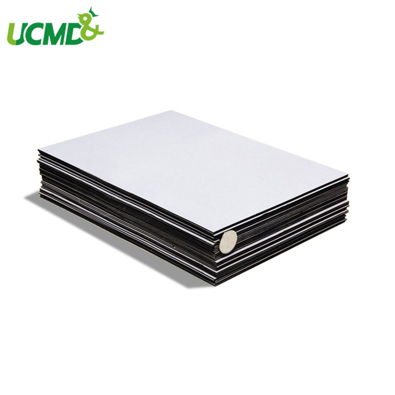 3pcs/lot A4 Self Adhesive Flexible Fridge Magnetic Sheet For Labels /Ad/Photos /File / Business Card Rubber Magnet Board