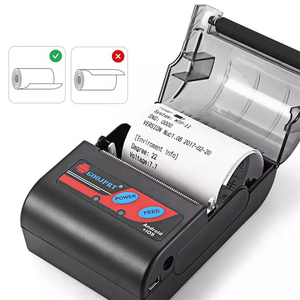 Image 4 - Portable Mini Bluetooth Printer Wireless Thermal Receipt Ticket Printer For Mobile Phone 58mm Bill Machine For Store