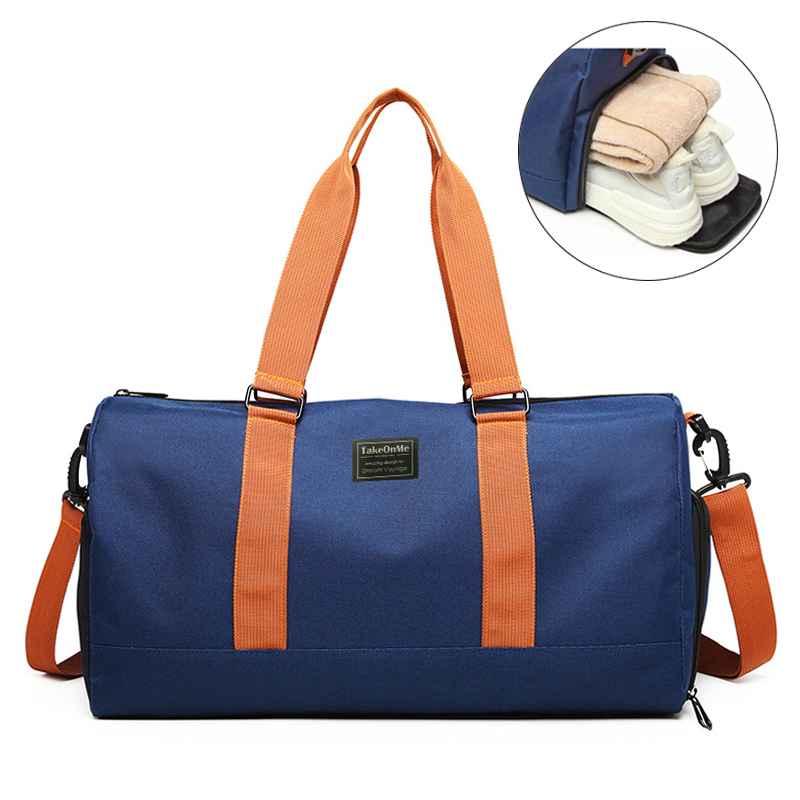 Gym Bag Sports Bags Storage Training Tas For Shoes Outdoor Women Men Fitness Shoulder Travel Luggage Handbag Sports Yoga Bag