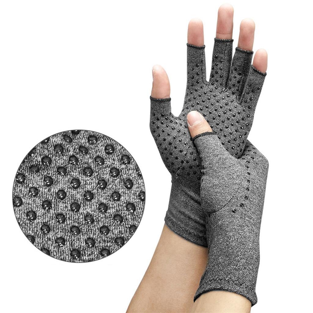 Перчатки для лечения остеоартрита, лечения артрита, сжатия, ревматоидной боли рук и запястья, спортивные безопасные удобные перчатки
