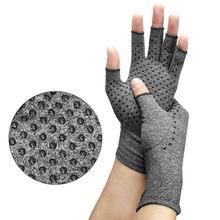 Osteoarthrit anti artrite saúde compressão terapia luvas reumatóide dor de mão descanso de pulso esporte luva segurança confortável