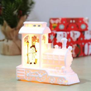 Рождественский светодиодный светильник с изображением снеговика, Лока, Санты-Клауса, рождественские украшения для дома, 2020 г., Рождественск...