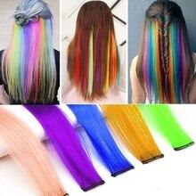 SHANGZI длинные прямые волосы заколка синтетика волосы наращивание чистая клипса в цельный кусок полоски 12% 22 шиньон для женщин 2020