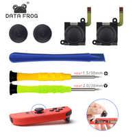 7 In 1 di Ricambio 3D Joystick Analogico Thumb Stick Per Nintend Interruttore Gioia Con Modulo di Controllo Del Sensore Potenziometro Strumento di Riparazione