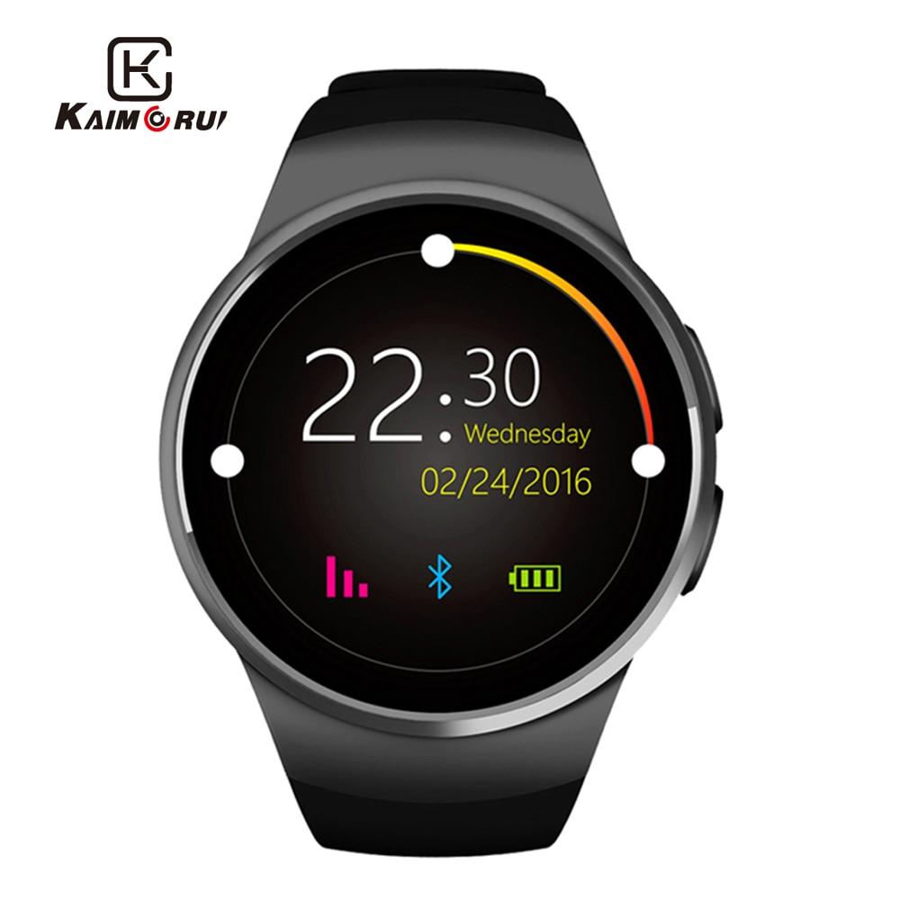 Kaimorui KW18 Smart Watch Men Heart Rate TF SIM Card Watch Phone Women Smartwatch sport Watches Connect For Xiaomi Huawei IOS