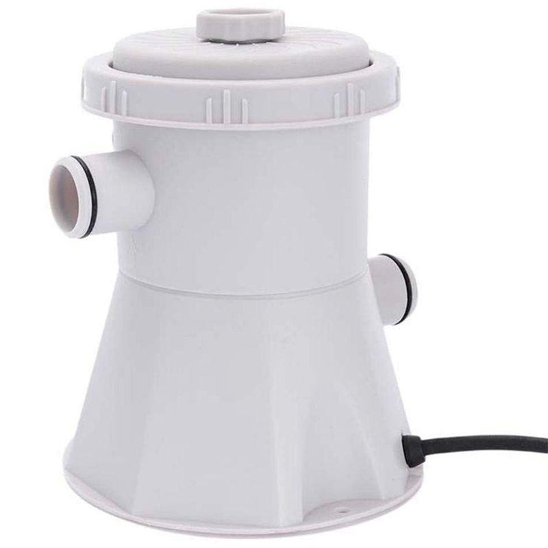 EU Plug 220V Electric Swimming Pool Filter Pump,Swimming Pool Pump And Filter Kit,Pool Pump,Paddling Pool Pump Water (Grey)