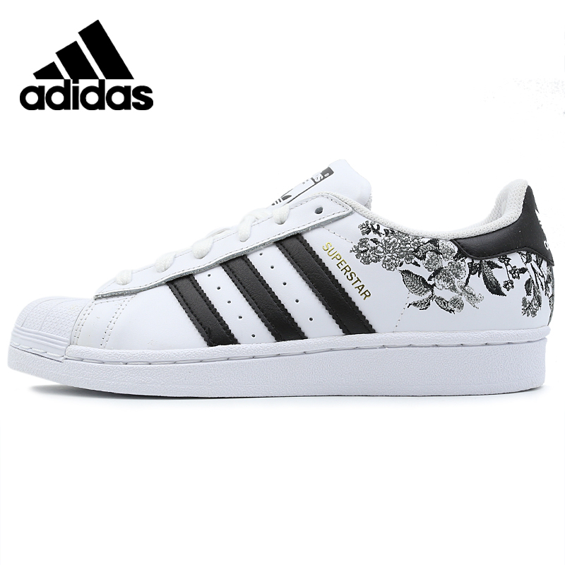 Original Adidas New Arrival SUPERSTAR W Womens Sports Shoes Outdoor Sneakers Suitable CG6407 image