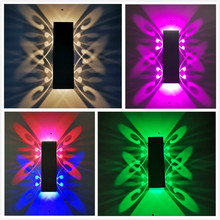 Nordic LED wall lamp Aluminum Waterproof outdoor wall lights for Porch/ /Garden /Bathroom/Holiday light led luminaire 10W