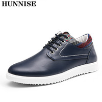 HUNNISE Casual Men Vulcanize Shoes Fashion School Student Flat Shoes Men Casual Vulcanize Shoes Quality Summer Men`s Sneaker