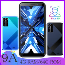 9A Globale version 32GROM/64GROM smartphones quad core 5,5 zoll 13mp günstige celulares android handys gesicht ID entsperrt MTK