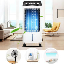 Air Conditioner Fan Ice Humidifier Powerful Cooling Air Conditioner Wind Summer Chiller Cool + 5 Pcs Ice Crystal - 70W 220V 4L