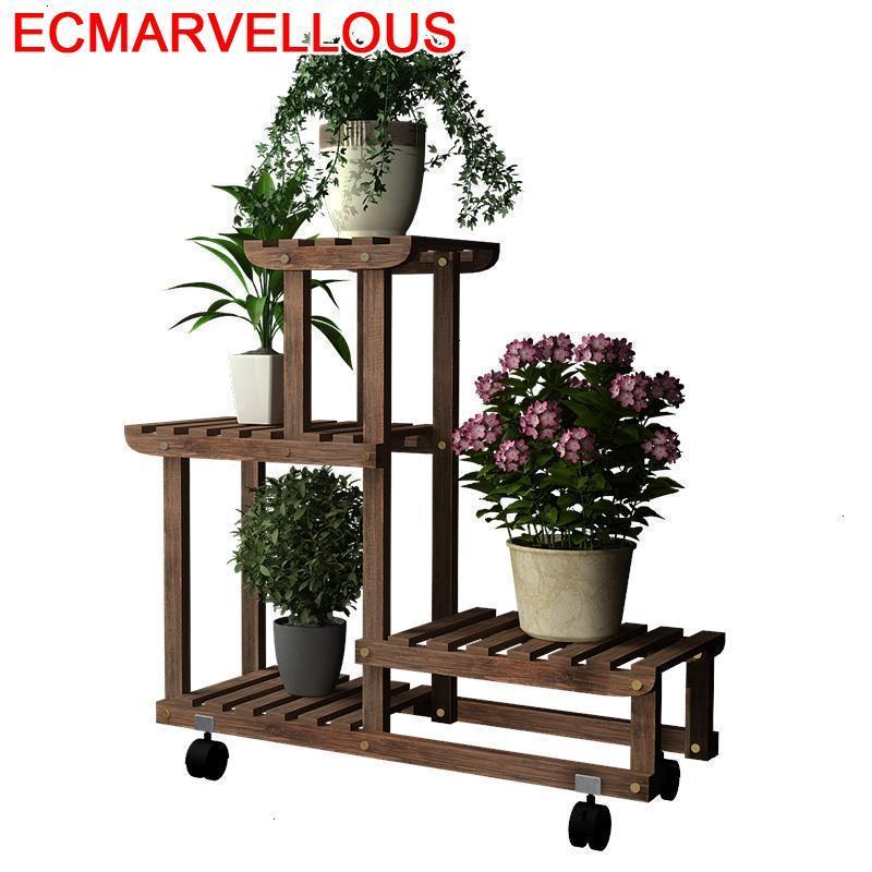 Pour Plante Estanteria Macetas Repisa Para Plantas Plantenstandaard Shelf Stojak Na Kwiaty Outdoor Flower Dekoration Plant Stand