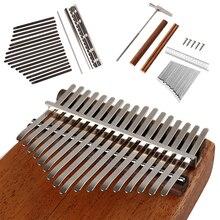 Musical-Instruments-Accessories Piano Kalimba Replacement Thumb-Keys Wooden Metal DIY