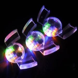 Glow Tooth Light Up Mouthpiece LED Mouth Flashing Teeth Halloween Trick Or Treat Novelty & Gag Toys Luminous Toys
